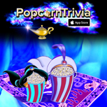PopcornTrivia Promotional Aladdin Apple