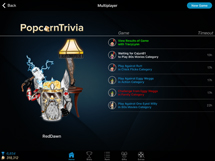 PopcornTrivia Tablet Multiplayer